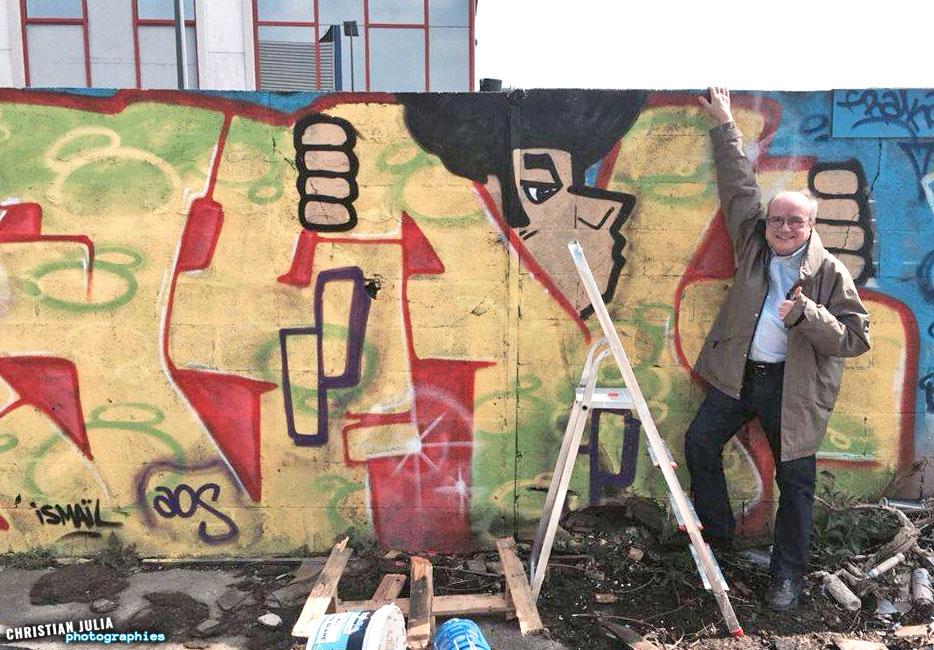 Graffitis gennevilliers 3 l usine d saffect e for Usine desaffectee exterieur